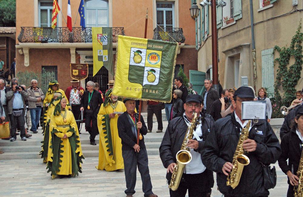 fête du Coing 2013 Comité du Coing et fanfare