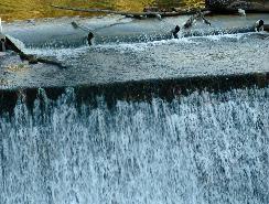 barrage de Carcès en décembre 2008