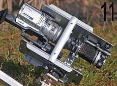 camescope avec son microscope