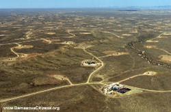 exploitation du gaz de schiste dans le Wyoming (www.DamascusCitizen.org)