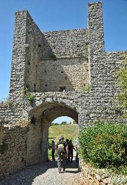 le portail de Gourdane