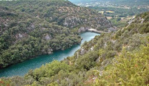 le barrage de Quinson