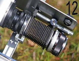 gros plan sur le microscope