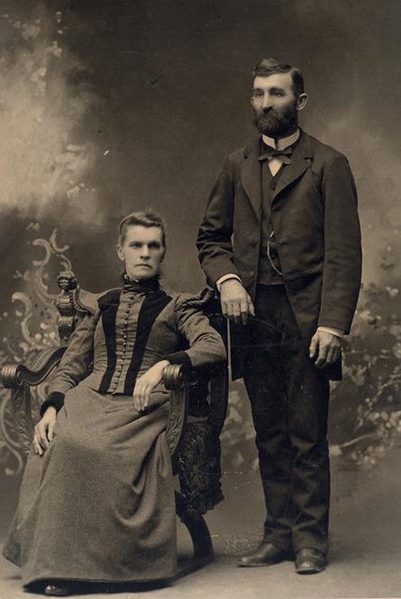 Max Bartl und seine Frau Agnes, um 1890