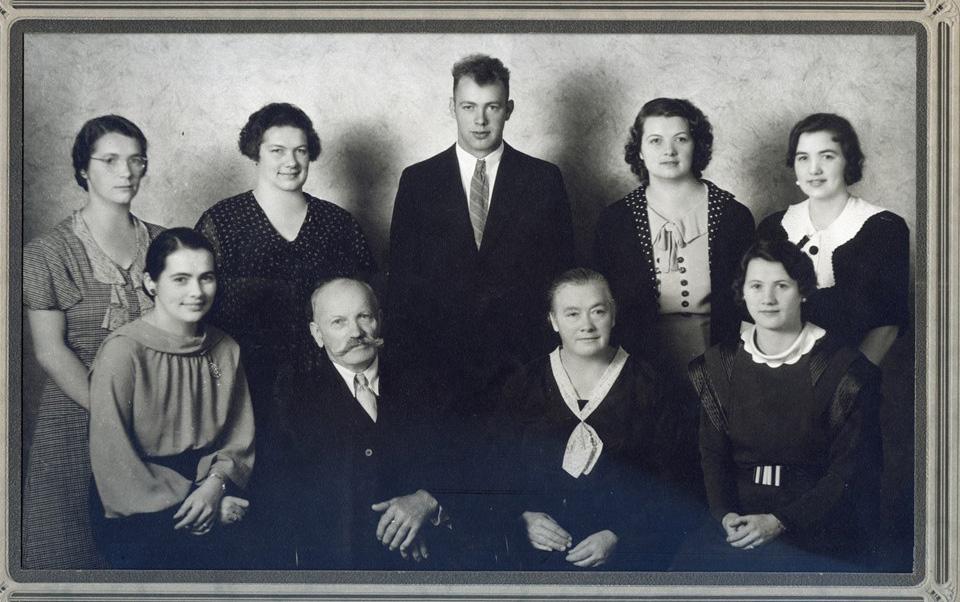 Die Anton Krätz-Familie, Arlington 1940/50