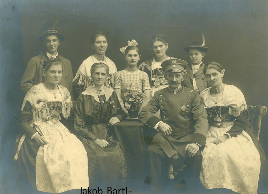 Jakob Bartl - Familie in Partenkirchen o.J.