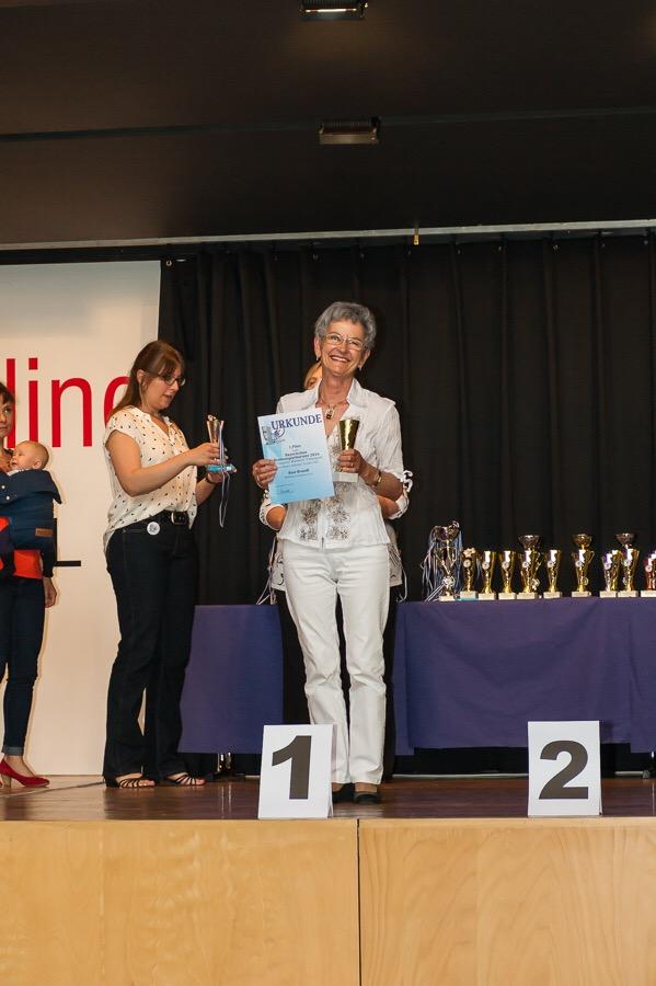 Breitensport Anfänger Gold 1. Platz Rosi Brandl