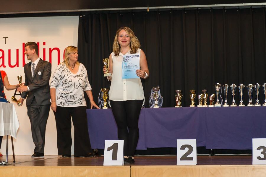 Breitensport Fortgeschrittene Open Adult 1. Platz Katharina Bauer