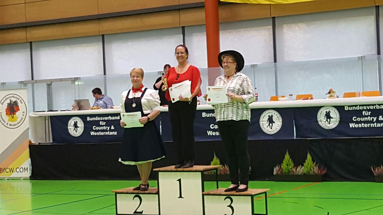 1. Platz Social Cup Diamond Sylvia Altmann