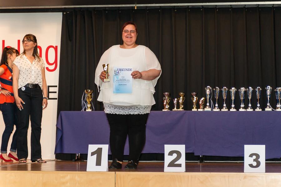 Breitensport Erfahrene Chrystal 1. Platz Claudia Krämer