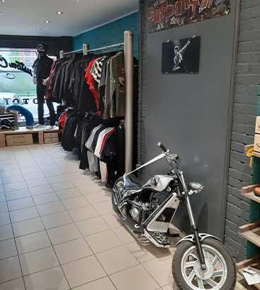 La boutique de Custom Culture Shop Belgium
