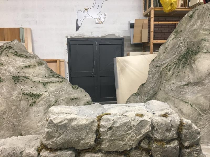 sculpture polystyrene