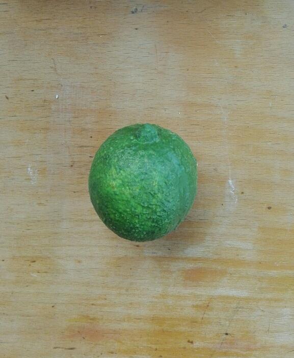 Citron vert en latex