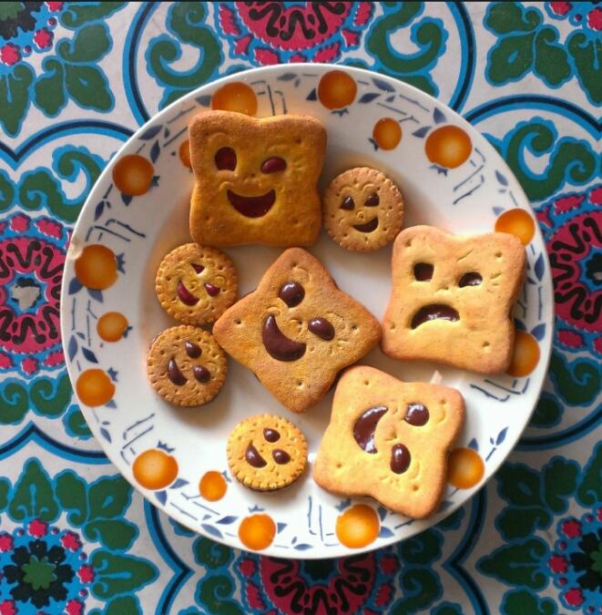 Faux biscuits en élastomère pour de la magie