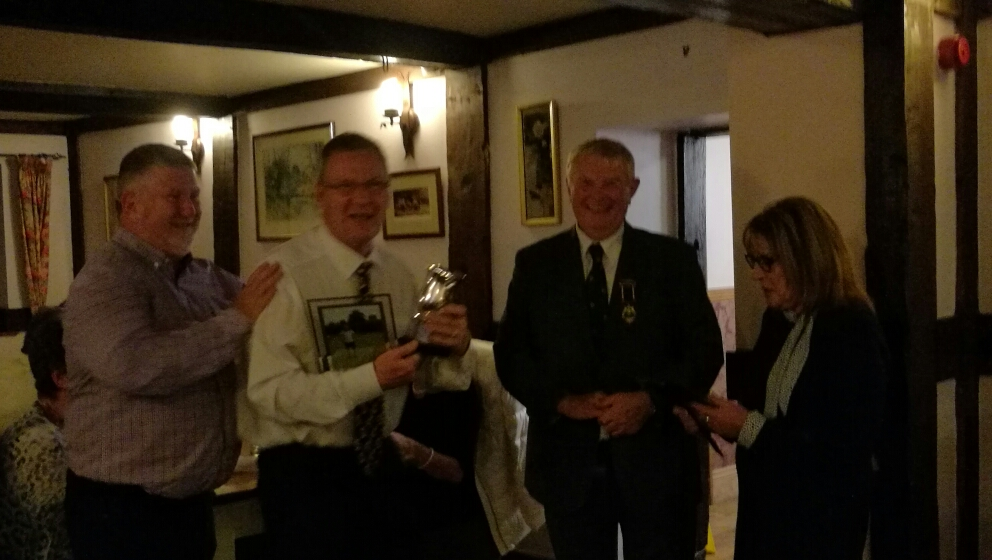 Sandy Goff Trophy Winners - Simon Conway and Stuart Cooke