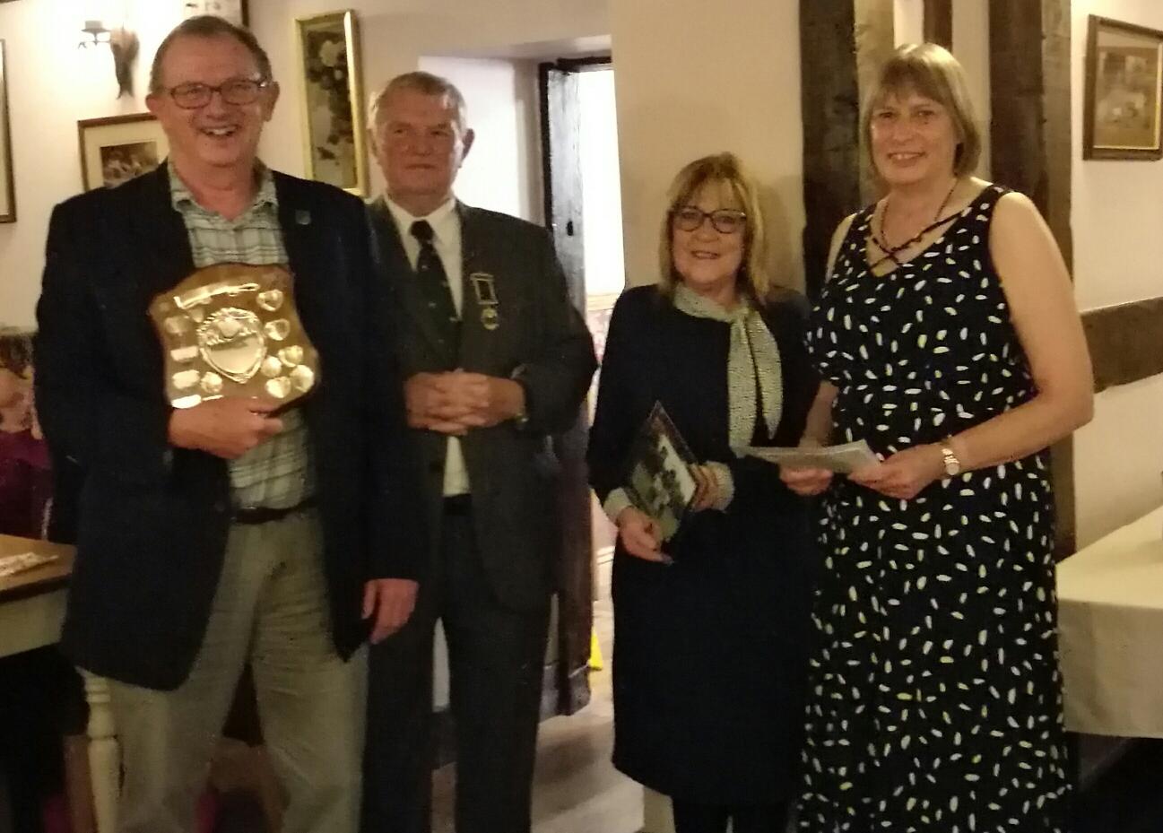 Sunset Shield Winners - Viv Webb  and Pauline Bailey
