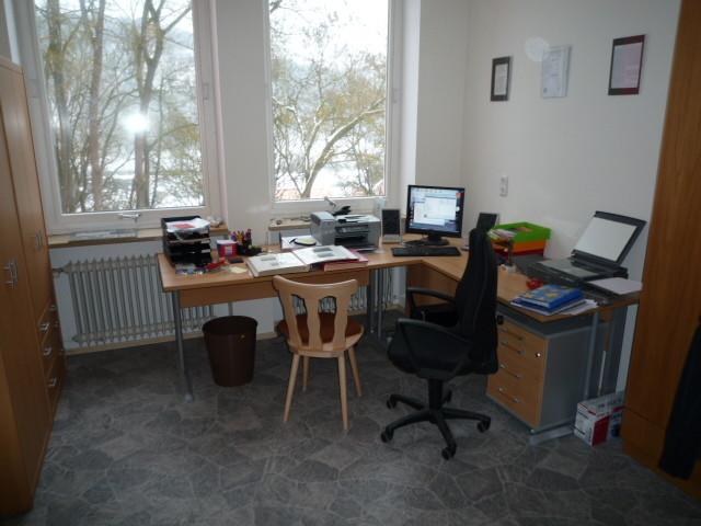 Kommandantenraum: Schreibtisch