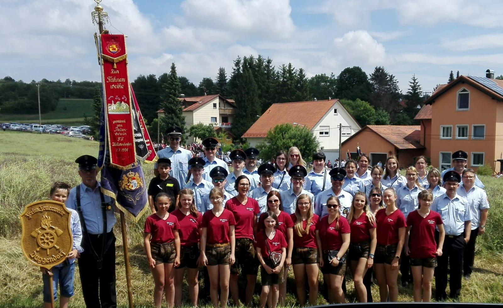 2019-06-23 Festzug 125 Jahre FF Bergstetten