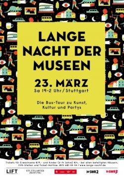 Lange Nacht der Museen Stuttgart 2019