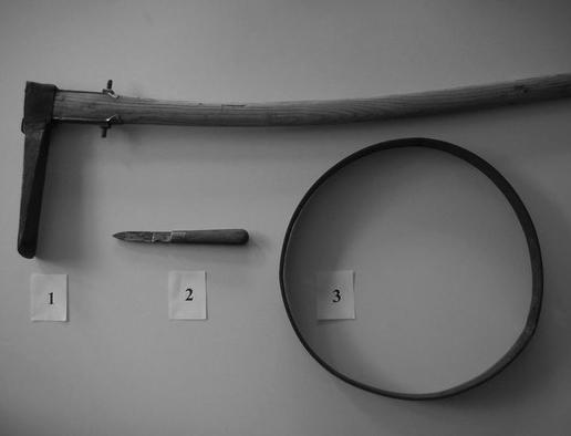 Mordwaffen von Hinterkaifeck