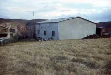 1979 - Der Schuppen  von 1965, heute Probiestube und Büro