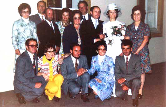 1975 - Die 7 Kinder von Marthe und Félix, und ihre Ehepartner