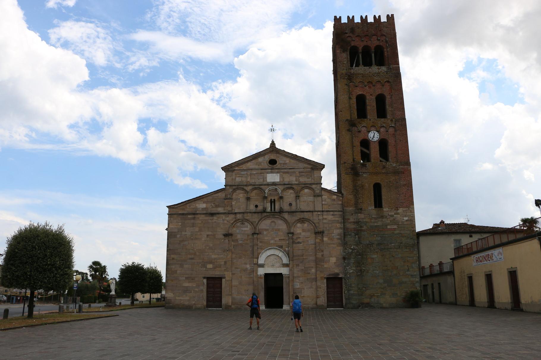 Tappa 27: Lucca - Altopascio | 18,5 km