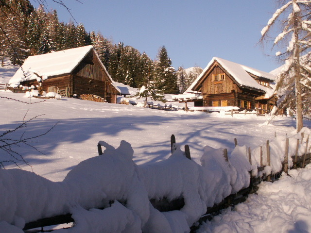 Stinighütte im Winter