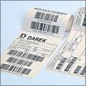 Barcode Etiketten überdruck
