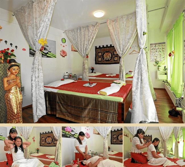 Traditionelle Thaimassage und Rückemassage im Studion Binzen mit erfahrenen Masseusen