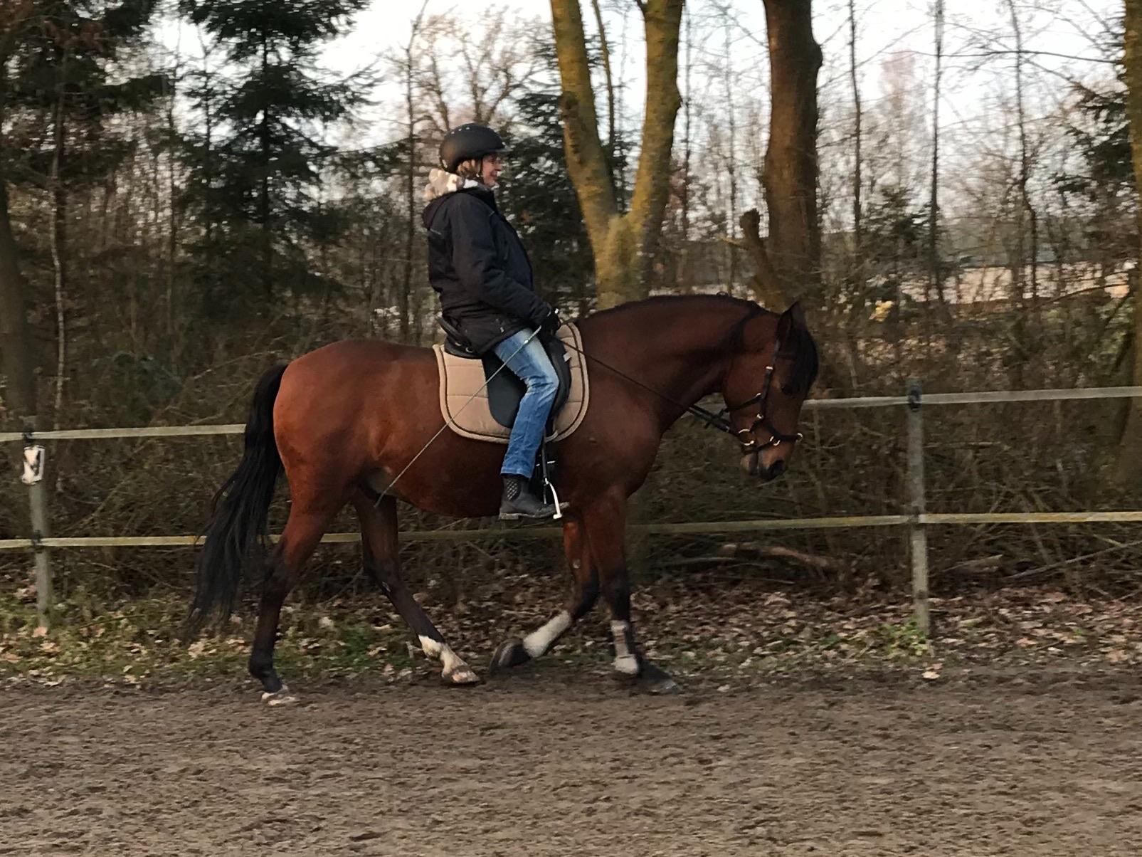 Flow tijdens paardrijden, het antwoord op angst?