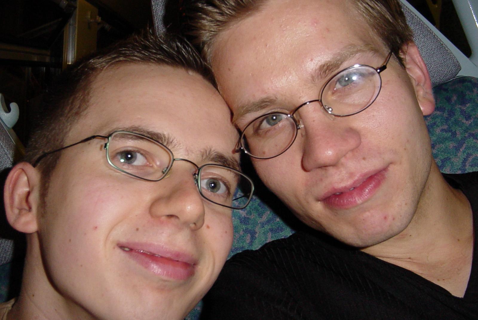 Im Jahr 2002 begann unser Leben mit diesem Bild