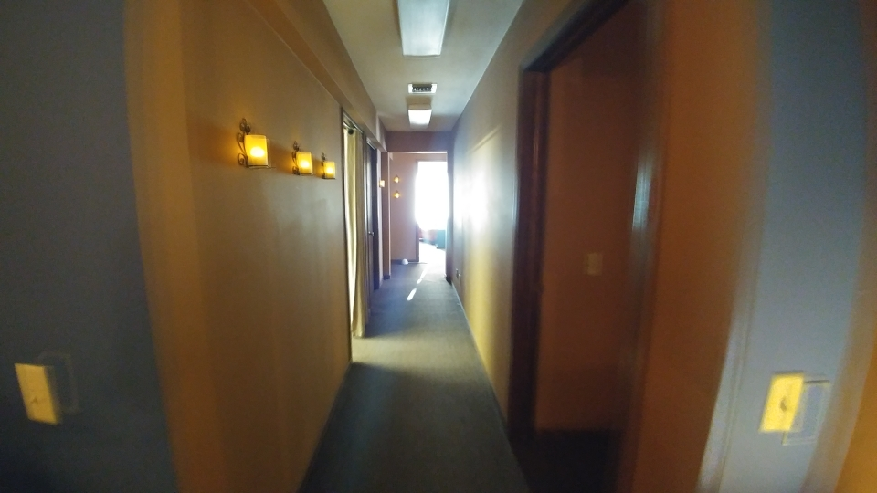 Hall leading to treatment room