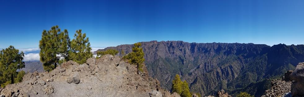 Panorama am Pico Bejenado