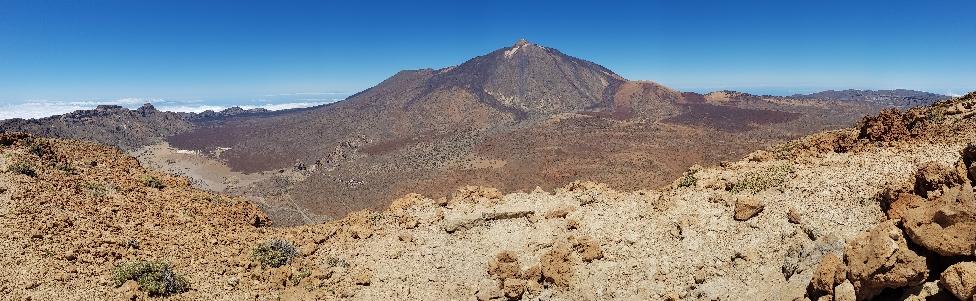 Guajara Gipfelpanorama