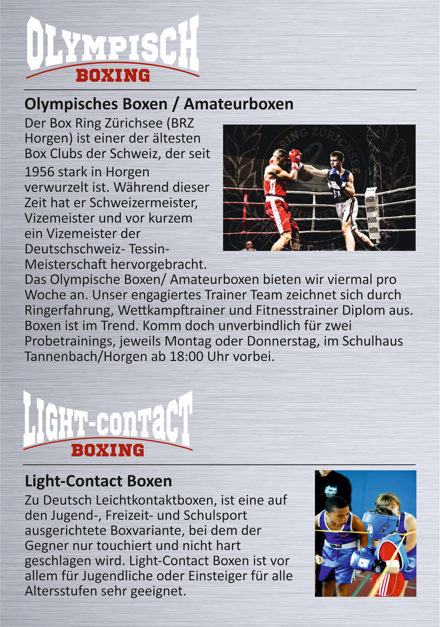 www.boxringzuerichsee.ch Promo