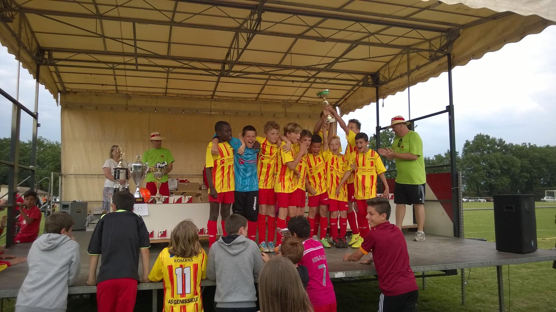 2015-U13 vainquer tournoi de Mours