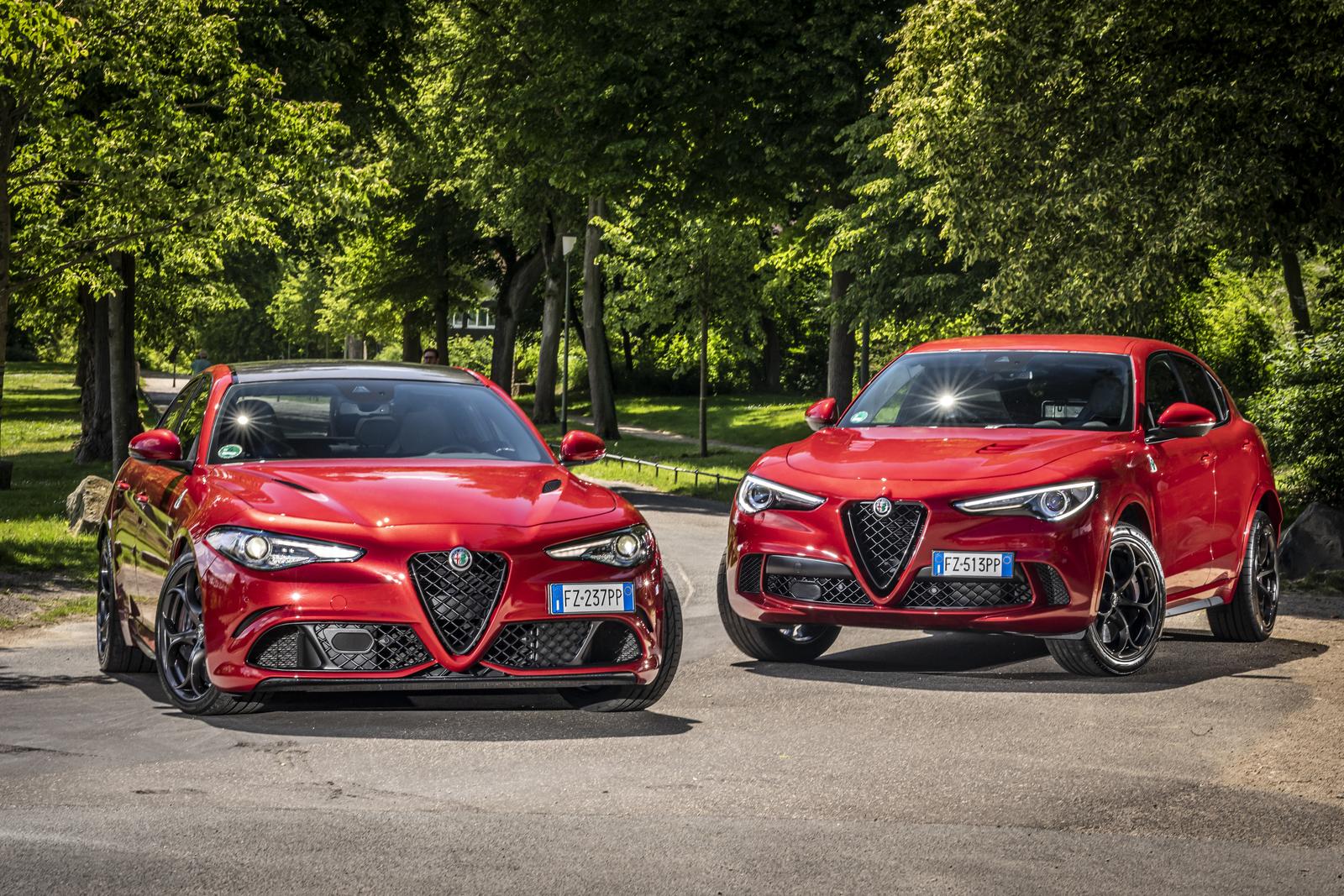 Alfa Romeo Stelvio und Giulia Sommerprämie
