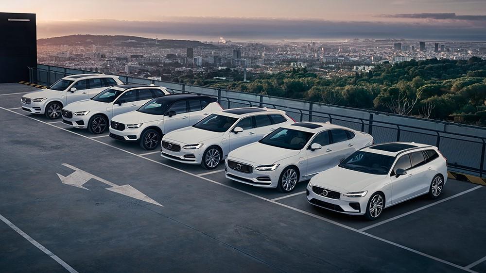 Zeit, umzuschalten. Alle Volvo Modelle sind jetzt als Plug-in Hybrid erhältlich.