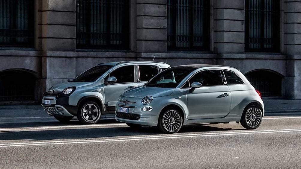 Der neue Fiat 500 und Panda Hybrid. Driven by Nature.