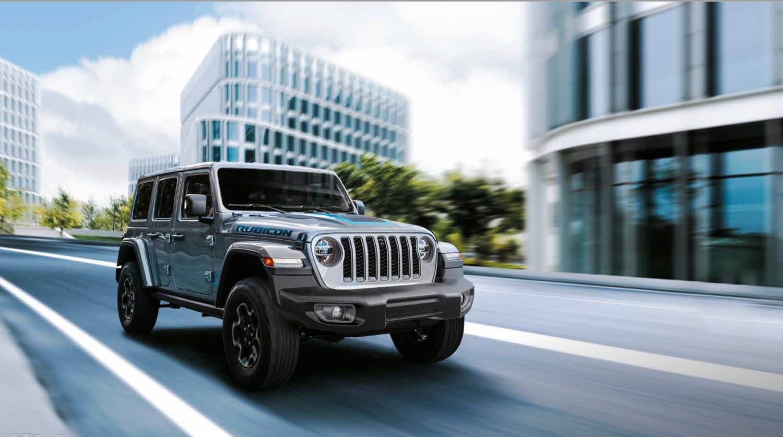 Jeep Compass und Wrangler 4xe Plug-in Hybrid Sommerprämie