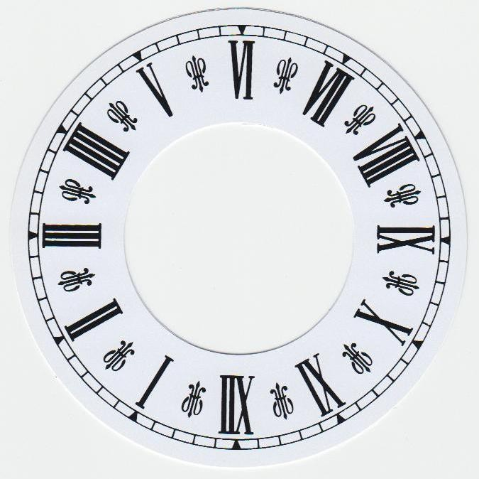31d1c9e3b99 Cadran papier pour création de pendule - Venus Diffusion, la ...
