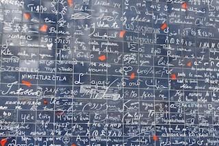 Wendepunkte Ursula Hütter Blog Valentinstag Paris Wand der Liebe