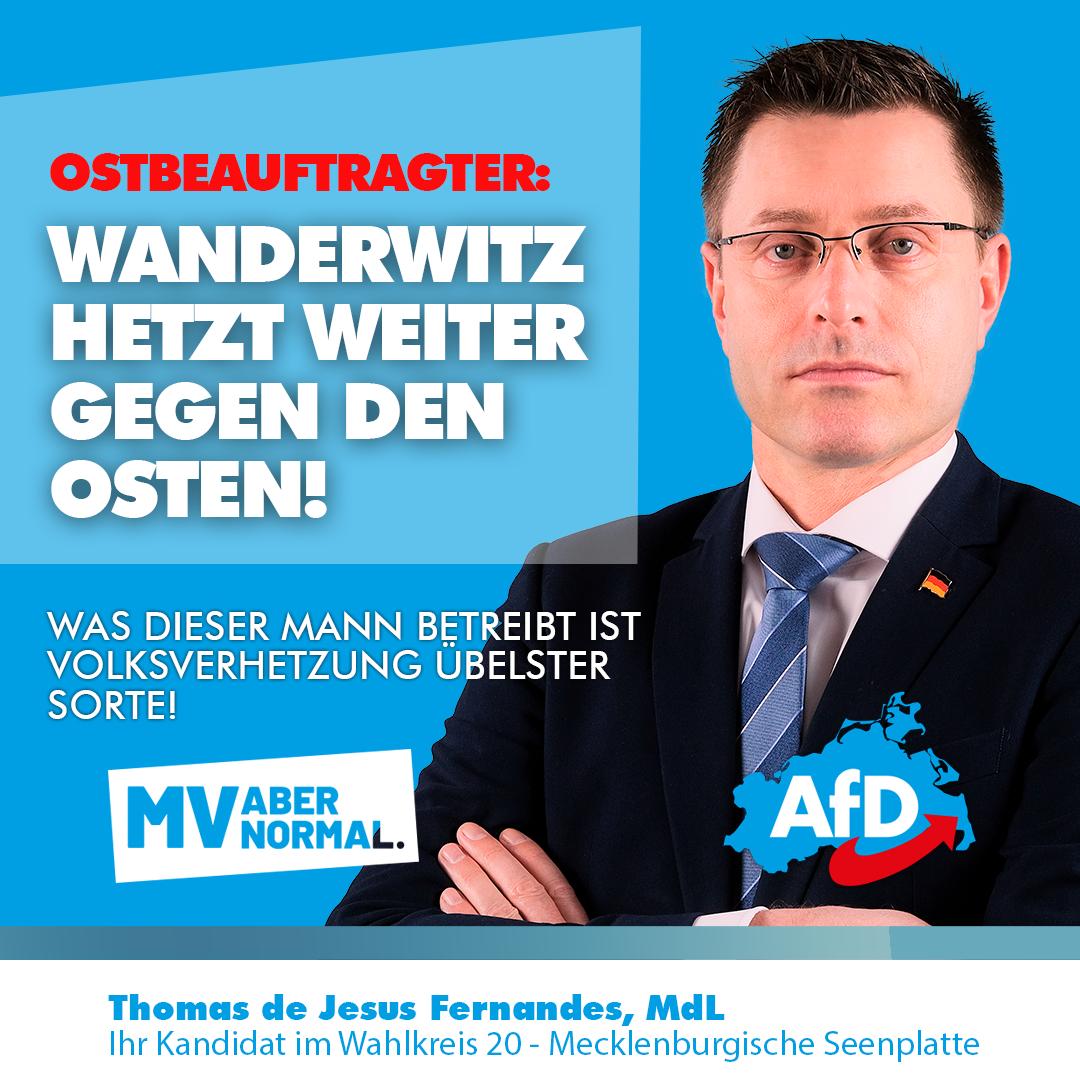 +++ Rücktritt überfällig - Ostbeauftragter Wanderwitz hetzt weiter gegen den Osten +++