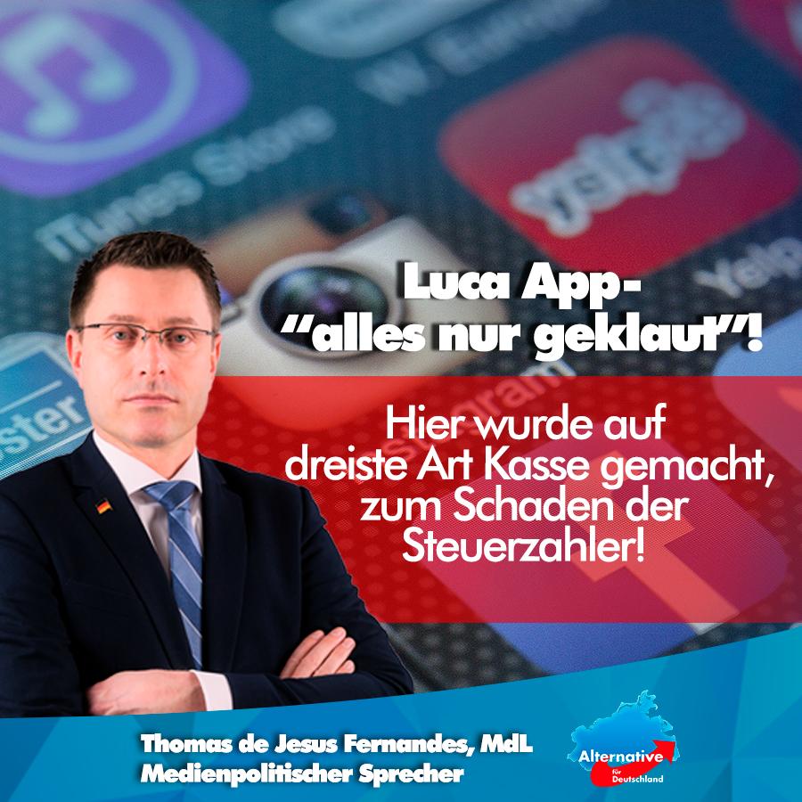 """+++ Luca App – """"alles nur geklaut""""! +++"""