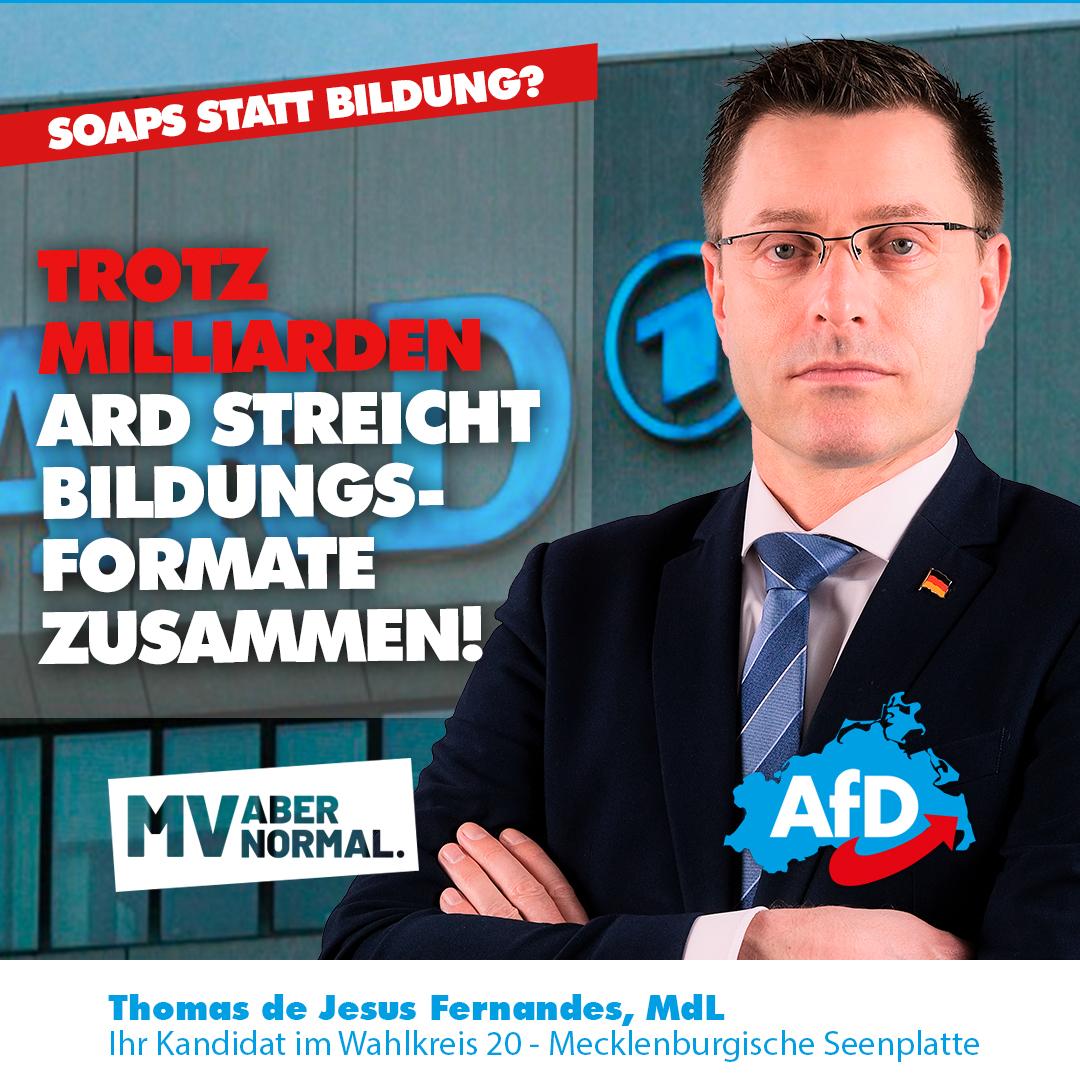"""+++ Trotz """"GEZ"""" Milliarden – ARD streicht Bildungsformate zusammen! +++"""