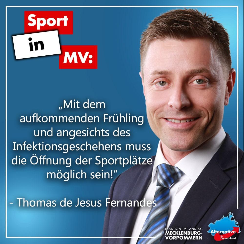 +++ Sport in MV wiederaufleben lassen! +++