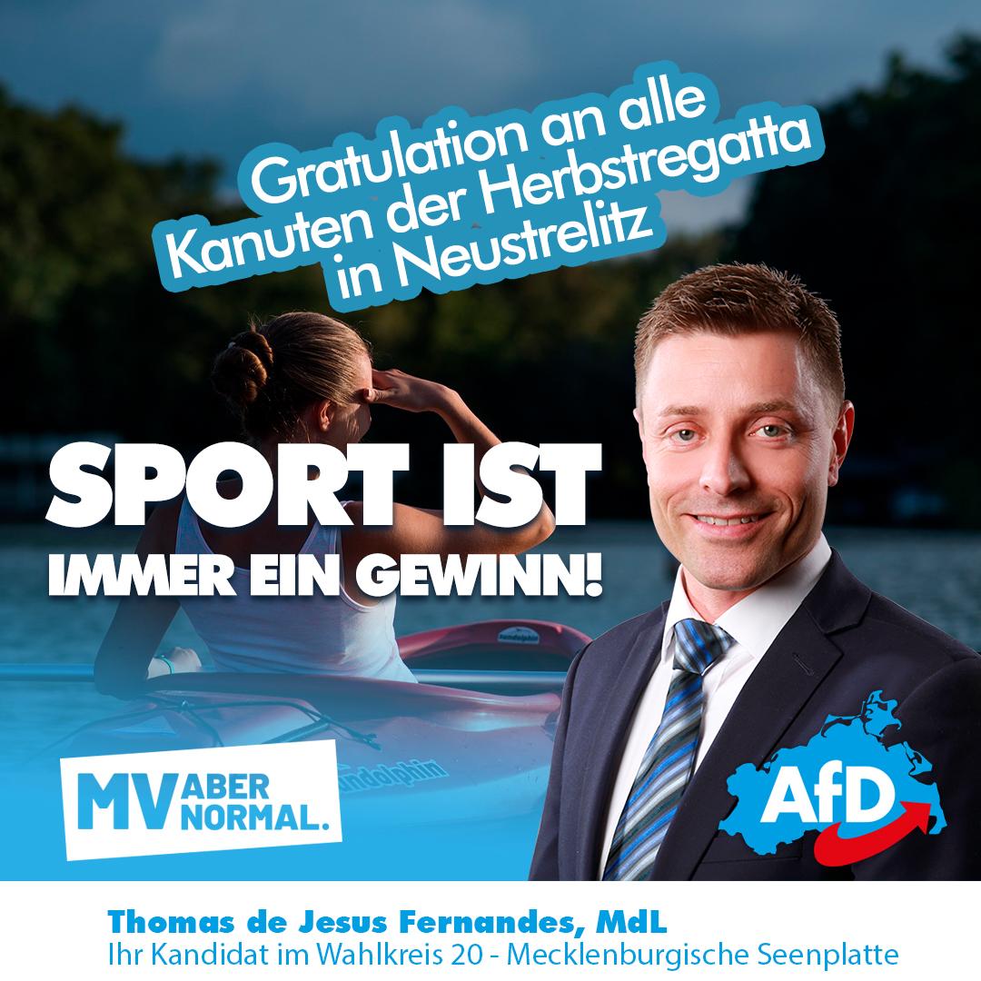 +++Herbstregatta in Neustrelitz – Glückwunsch an alle teilnehmenden Sportler +++