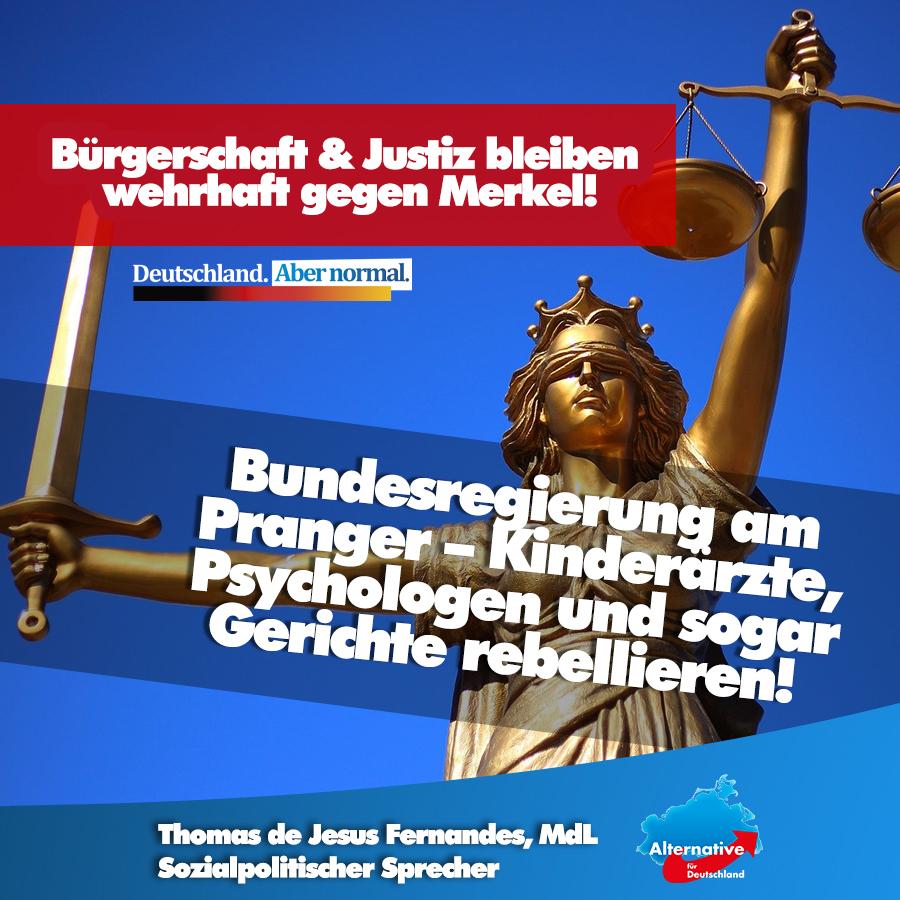 +++ Coronapolitik: Bundesregierung am Pranger – Kinderärzte, Psychologen und sogar Gerichte rebellieren +++