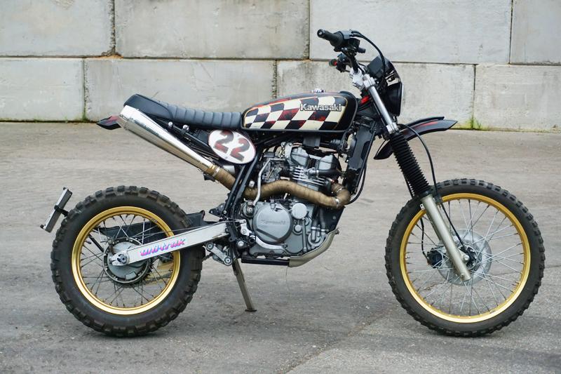 KLR 600 Scrambler